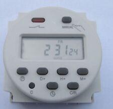 Interrupteur PROGRAMMATEUR HORAIRE DIGITAL 24V AC DC NUMERIQUE TIMER   CL 09
