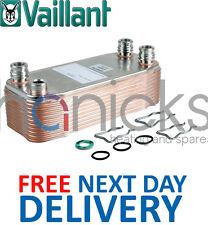 Vaillant TURBOmax Plus 837 E 20 Plate DHW H/E 065153 065133 065144 Genuine *NEW*