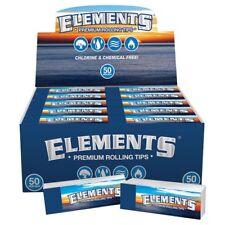 10x Elements Premium Tips ( 50 Tips Per Pack ) Premium Cigarette Rolling Paper