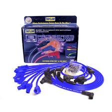 Taylor Spark Plug Wire Set 74658; Spiro Pro 8mm Blue 135° HEI (Male) for Ford V8