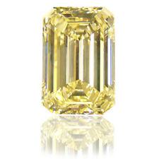 Yellow Sapphire Diamond Emerald Brilliant Cut 10 x 14 mm Size 05 Pieces Lot