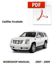 service repair manuals for cadillac escalade for sale ebay rh ebay com 2002 2006 Cadillac Escalade Cadillac Escalade Parts Diagram