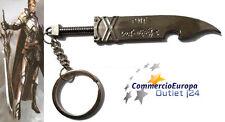 PORTACHIAVI A FORMA DI SCIABOLA SPADA IN METALLO 11cm SWORD keychain stok
