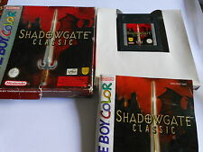 Shadow Classic GAMEBOY Color  / ADVANCE / SP GBA GAME