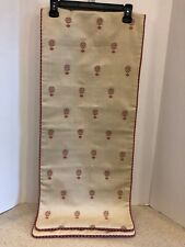 New listing Reversible Embroidered Table Runner 70� X 15�