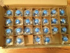 NIFTY KNOBS 26 LOWER CASE ALPHABET LETTER STAMPERS STAMPS & ORIGINAL BOX READ AD