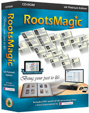 RootsMagic Version 7 UK Platinum Edition (Genealogy Software)