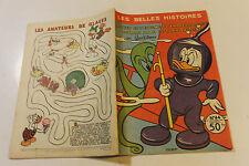 LES BELLES HISTOIRES DE DISNEY  44 octobre 1957 MICKEY ET l énigme du chapeau ro