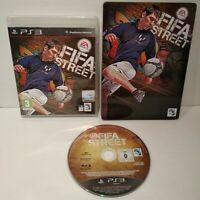 FIFA Street - Jeu PS3 Region Free Complet Comme neuf + Steelbook - Bon état