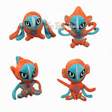 """4x Deoxys Normal Attack Speed Defense 5""""-6"""" Poke Plush Doll Stuffed Toy"""