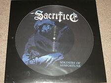 SACRIFICE - Soldiers Of Misfortune - Picture Disc LP - Thrash Metal - SEALED 500