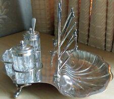 Vintage Alfred Browett EPNS Breakfast Set