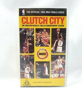 NBA - Clutch City Houston Rockets 1993-94 Championship Season VHS Finals Video