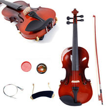 Hot Sale Student Maplewood 4/4 Acoustic Violin w/ Fiddle + Case + Bow + Rosin