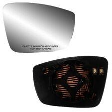 Fits 13-17 Volkswagen Passat Passenger Side Mirror Glass With Back Plate - Heat