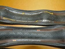 Pair Continental Grand Prix 4 Season 700x25c lightweight road bike tyres+tubes
