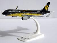 BVB Mannschaftsairbus Eurowings Airbus A320-200 1:200 Herpa Snap-Fit 611312 NEU