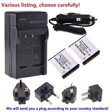 Battery or AC charger for Kodak KLIC-7004 EasyShare M1093 V1073 V1233 V1253 Zi8