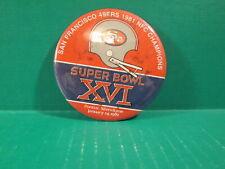 "San Francisco 49ers 1981 NFC Champions ""Super Bowl XVI"" Pin"