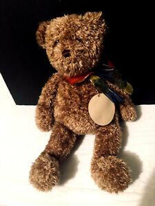 "Gund 16"" Plush Teddy Bear Stuffed Animal Tan Brown Bearessence #4890"