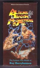 1991 VHS - ALIENS, DRAGONS, MONSTERS & ME - Ray Harryhausen documentary