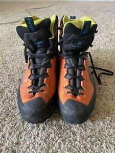 Scarpa Charmoz 71051/250.1 Black/Orange Waterproof Trekking Mountaineering Boots