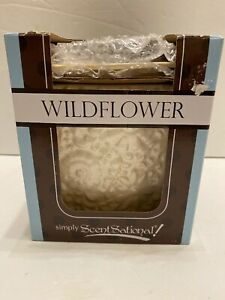 Full Size Scented Wax Warmer by Scentsationals - White Wildflower