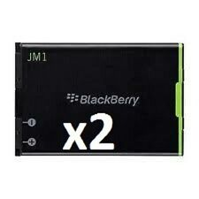 2 NEW BLACKBERRY JM1 JM-1  REPLACEMENT BATTERY Bold ,9900,9930 Torch 9850,9860