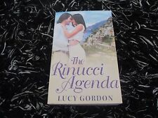 MILLS & BOON THE RINUCCI AGENDA BY LUCY GORDON 3 IN 1 LIKE NEW 2016