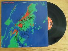 PAT TRAVERS BAND signed RADIO ACTIVE 1981 Record TOMMY ALDRIDGE SANDY GENNARO