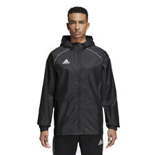 adidas Children Raincoat Core 18 Casual Jacket Football Jacket Childrens Jacket 140 Ce9047 Black/ White
