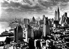 New York City Vintage City Scape 1931 poster  A2 SIZE