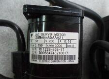 Used Yaskawa Ac Servo Motor Sgmah-A5Aaa21 50W Tested
