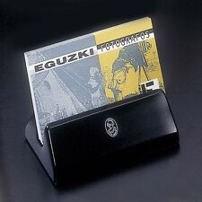 El Casco Desk Card Holder M-670CN Shiny chrome and black