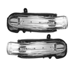 For Mercedes C-Class W203 2004-2007 LED Mirror Indicator Repeater Right+Left