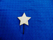 WOOD AND METAL STAR HANGER ORGANIZER~READY TO HANG~~BUY IT NOW $4.00
