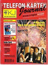 TK Telefonkarten Zeitung TKJ Telefonkarten Journal 1997 Nr. 4 u.a. PortoCard