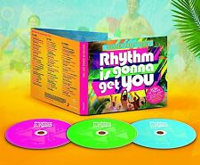Rhythm Is Gonna Get You Summer Party Fever 3 CD SET BLACK EYED PEAS PITBULL More