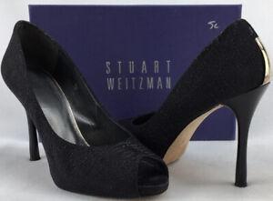 Stuart Weitzman Idbaton Nero Lizette Size 11 N1047