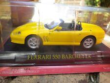IXO / ALTAYA FERRARI 550 BARCHETTA jaune état neuf dans sa boite jamais ouverte