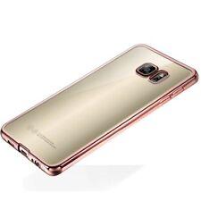 Premium TPU Schutzhülle Pink für Samsung Galaxy S7 Edge G935 G935F Tasche Case