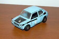 modellino FIAT 127 rally  MEBETOYS  1/43  MODEL CAR TOYS