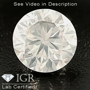 0.25 cts. CERTIFIED Round Brilliant Cut SI1 White-G Loose Natural Diamond 25457