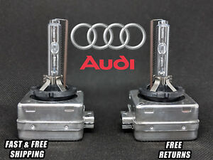 Stock Fit HID Xenon Headlight Bulbs for Audi S4 LOW Beams 2004-2006 Set of 2