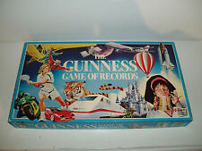 """Vintage """"The Guiness Game of Records"""" board game."""
