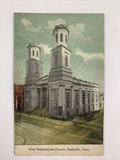 Vintage Postcard Nashville Tennessee First Presbyterian Church