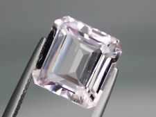 6.81ct Natural Kunzite 11.5x11.5mm Loose VS Gemstone Octagon light pink Afghan