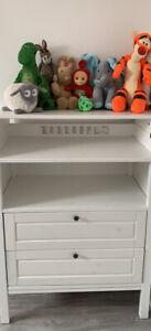 Ikea Sundvik nursery baby Changing Table/Chest Of Drawers/storage unit (White)