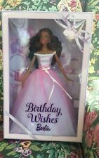 Nib Birthday Wishes African American Barbie Collector Edition 2016