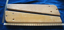 2 Wooden Legs - Genco, United, etc? Shuffle Bowler, Baseball, Arcade Game?